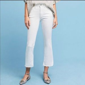 Anthropologie Pilcro  High Rise Cropped Flare